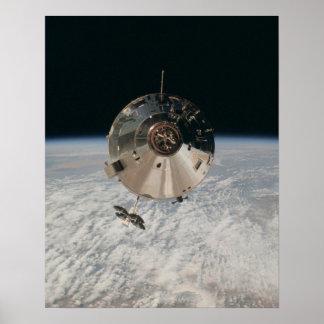 Apollo 9 Command & Service Modules Poster