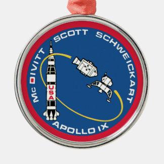 Apollo 9 McDivitt Scott Schweickart Christmas Ornament