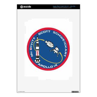 Apollo 9: McDivitt, Scott & Schweickart Skin For iPad 3