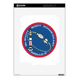 Apollo 9: McDivitt, Scott & Schweickart Skins For The iPad 2