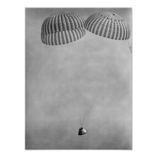 Apollo 9 Splashdown & Recovery Poster