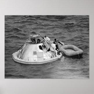 Apollo 9 Splashdown & Revocery Poster