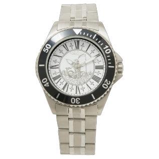 Apollo And Amphissa Vintage 1775 Johann Strasser Wristwatch at Zazzle
