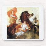 Apollo and Aurora antique painting mythology art Mousepad
