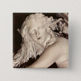 Apollo and Daphne, detail of Daphne's head Button