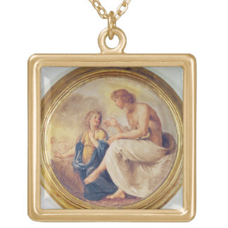 Apollo and Phaethon, c.1634 (fresco) Custom Jewelry