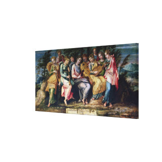 Apollo and the Muses, 1600 Gallery Wrapped Canvas
