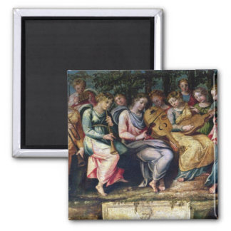 Apollo and the Muses, 1600 Magnet