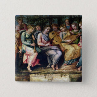 Apollo and the Muses, 1600 Pinback Button