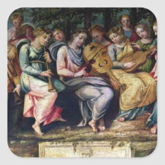 Apollo and the Muses 1600 Sticker