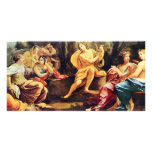 Apollo And The Muses,  By Vouet Simon Photo Card