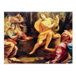 Apollo And The Muses,  By Vouet Simon Postcards