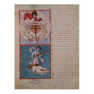Apollo as the Sun and Diana as the Moon Postcard