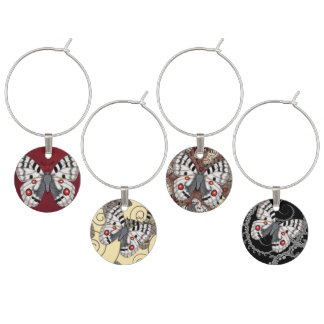 Apollo Butterfly Wine Charm