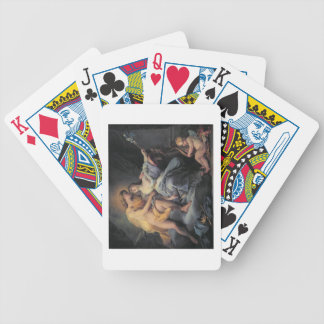 Apollo caressing the nymph Leucothea (oil on canva Bicycle Playing Cards