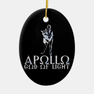 Apollo Ceramic Ornament