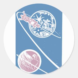 Apollo Classic Round Sticker