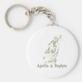 Apollo & Daphne Keychain