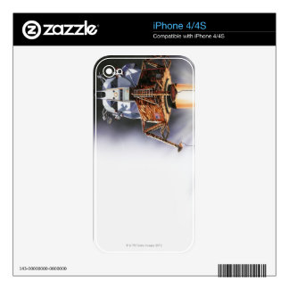 Apollo Eagle Lunar Module iPhone 4S Skin