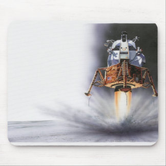 Apollo Eagle Lunar Module Mouse Pad