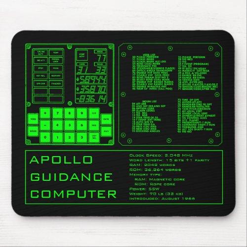 Apollo Guidance Computer Mouse Pad
