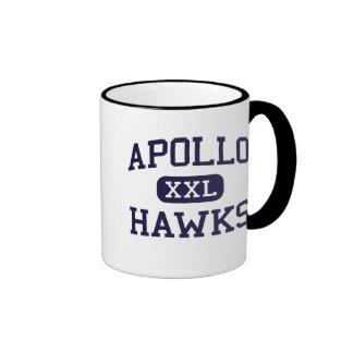 Apollo - Hawks - High School - Glendale Arizona Ringer Coffee Mug