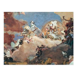 Apollo in his Sun Chariot driving Beatrice I Postcard