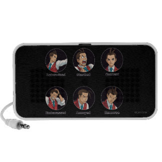 Apollo Justice Emoticons PC Speakers