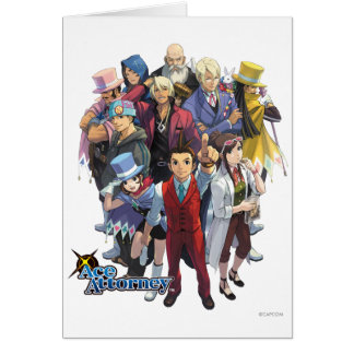 Apollo Justice Key Art Card
