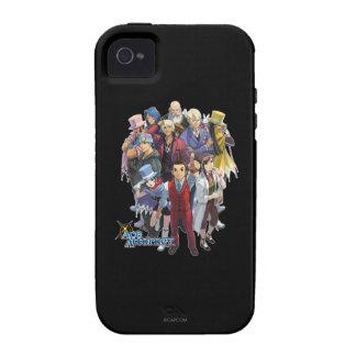 Apollo Justice Key Art iPhone 4 Cases