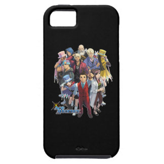 Apollo Justice Key Art iPhone 5 Covers