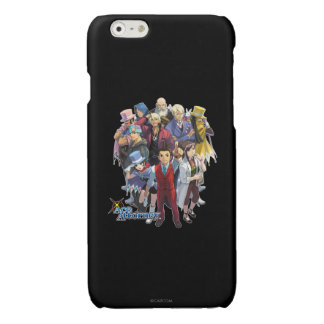 Apollo Justice Key Art Glossy iPhone 6 Case
