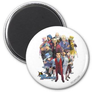 Apollo Justice Key Art Magnet