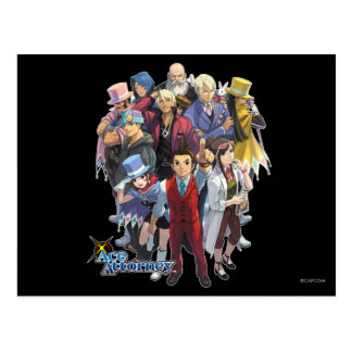Apollo Justice Key Art Post Cards
