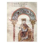 Apollo Medicus, from 'Etymologiae' Postcard