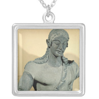 Apollo of Veii, from the Temple of Minerva Silver Plated Necklace