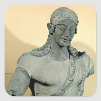 Apollo of Veii, from the Temple of Minerva Square Sticker