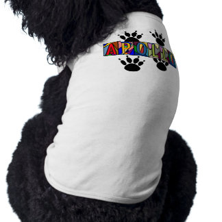 APOLLO ~ PERSONALIZED BIG LETTER PET-WARE FOR DOGS TEE