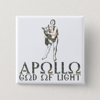 Apollo Pinback Button