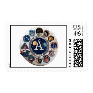 Apollo Program Commemorative Logo Stamp