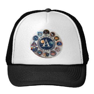 Apollo Program Commemorative Logo Trucker Hat