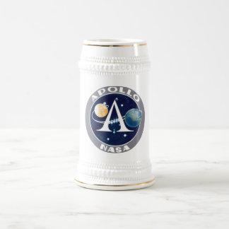 Apollo Program Logo Beer Stein