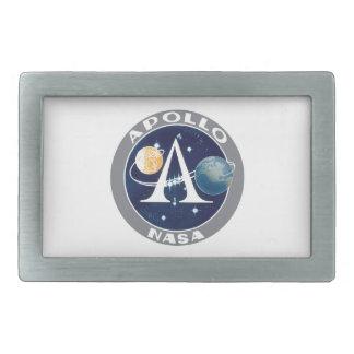 Apollo Program Logo Belt Buckle