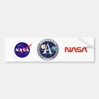 Apollo Program Logo Bumper Sticker