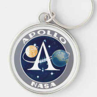 Apollo Program Logo Keychain
