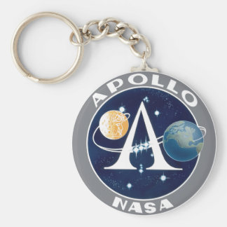 Apollo Program Logo Keychains