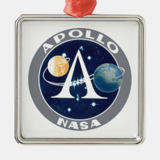 Apollo Program Logo Metal Ornament