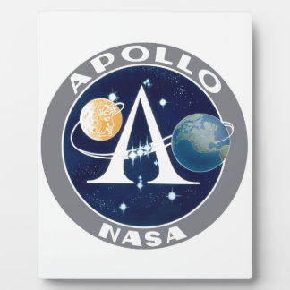 Apollo Program Logo Plaque