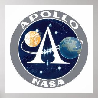 Apollo Program Logo Poster