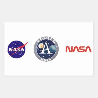 Apollo Program Logo Rectangular Sticker
